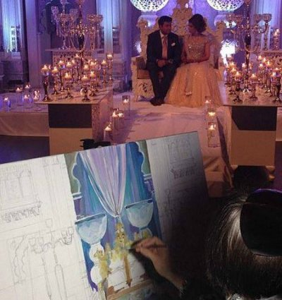 Olga Pankova - Live Event Artist featured in 15 Entertainment Ideas Guaranteed To 'Wow' Your Guests