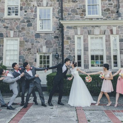 Thumbnail for Vy and Justin's Lovely Wedding at Graydon Hall Manor