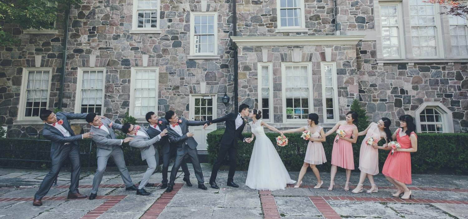 Hero image for Vy and Justin's Lovely Wedding at Graydon Hall Manor