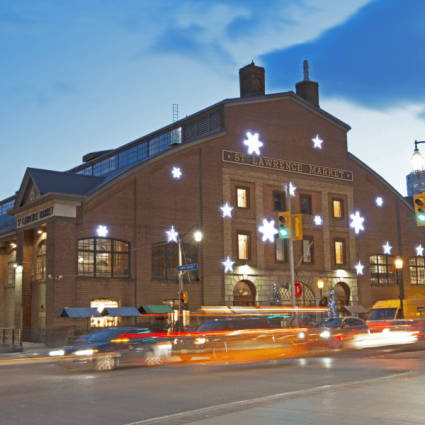"""St. Lawrence Market featured in 9 Toronto Hot Spots Perfect For """"Popping the Question"""" Over T…"""