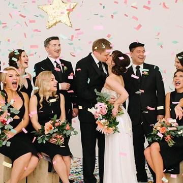 Ash and Matt's Ultra Fun Wedding at the Four Seasons Hotel