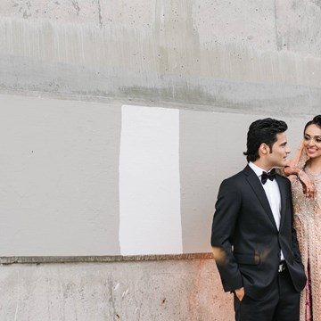 Jureena and Zarak's Stylish Wedding at Palais Royale