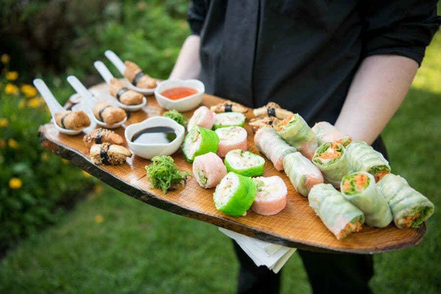 toronto caterers share hors doeuvres to be served in 2017, 25
