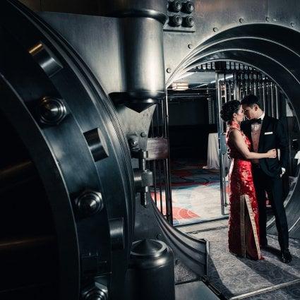 Navy Nhum Photography featured in Stefanie and Steven's Elegant Black-Tie Wedding at One King West