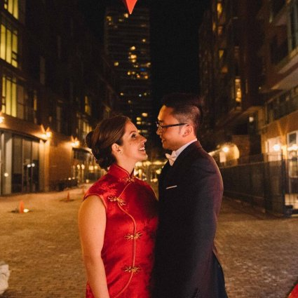 Thumbnail for Alissa and Jonathan's Sweet Wedding at The Fermenting Cellar
