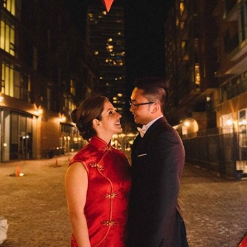 Alissa and Jonathan's Sweet Wedding at The Fermenting Cellar