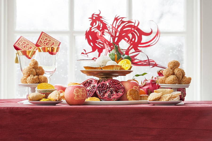 Chinese New Year Sweet Table