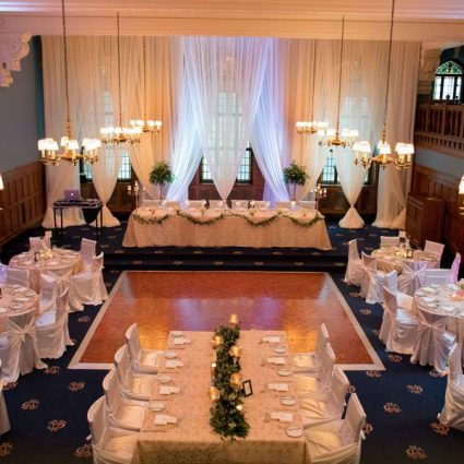 The Albany Club featured in The 2017 Wedding Open House at The Albany Club