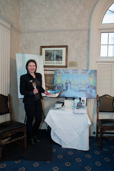 Carousel image of Olga Pankova - Live Event Artist, 6