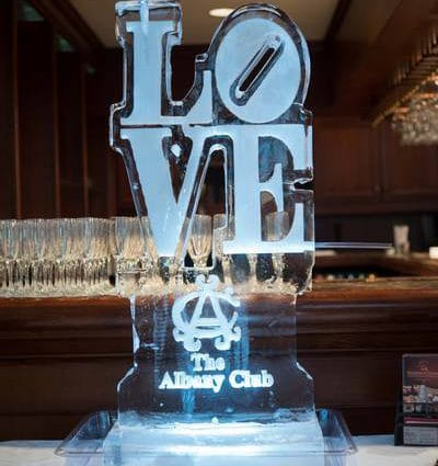 Iceguys featured in The 2017 Wedding Open House at The Albany Club