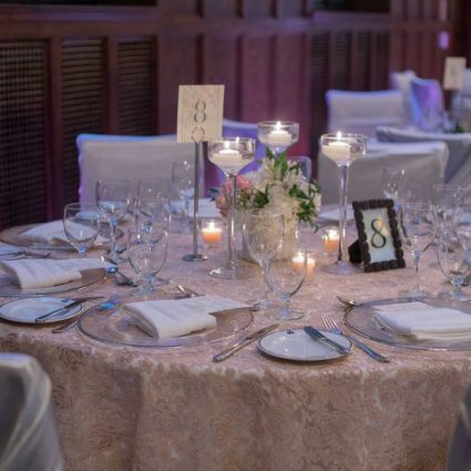 Designs by Dina featured in The 2017 Wedding Open House at The Albany Club