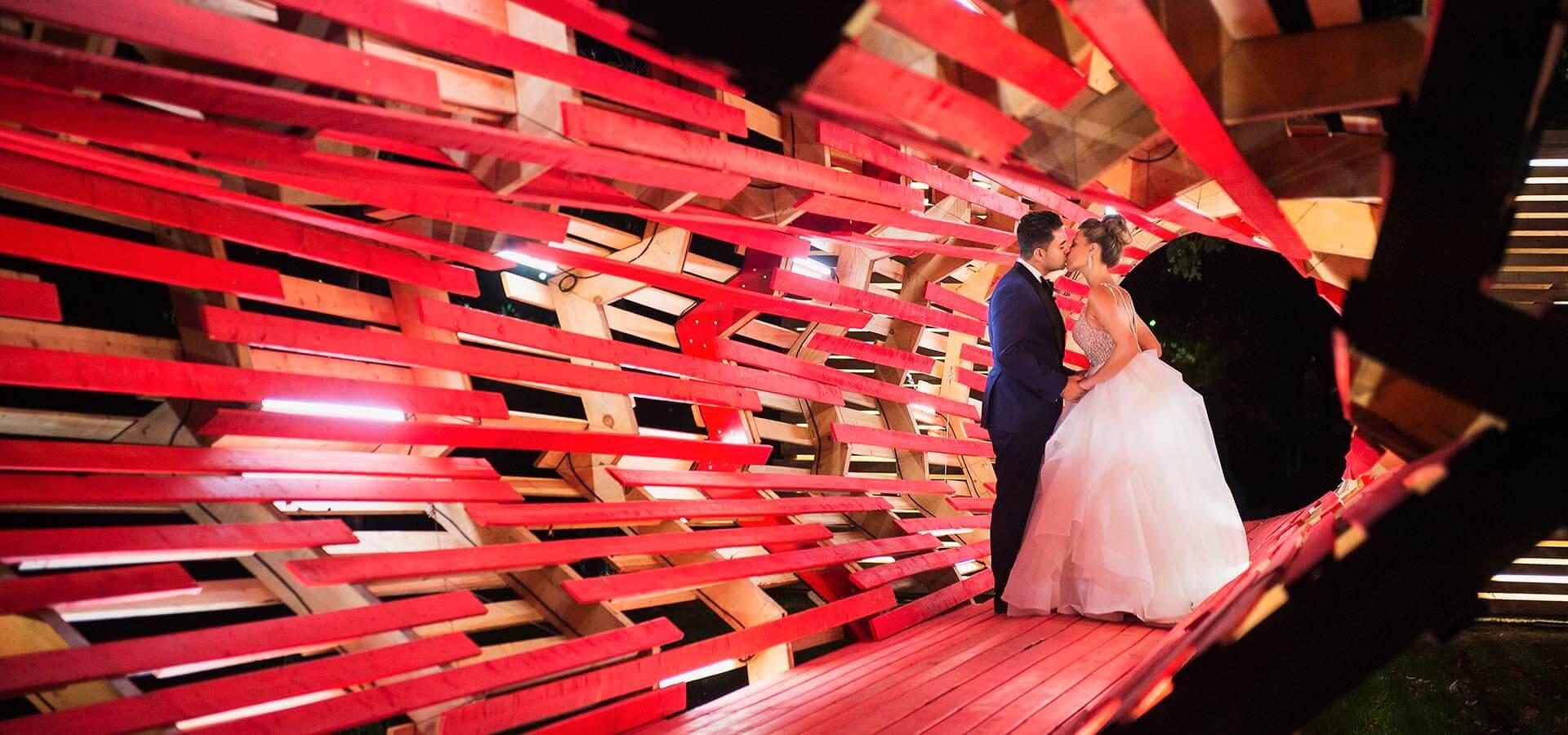Hero image for Margarita and Andy's Elegant Wedding at Palais Royale