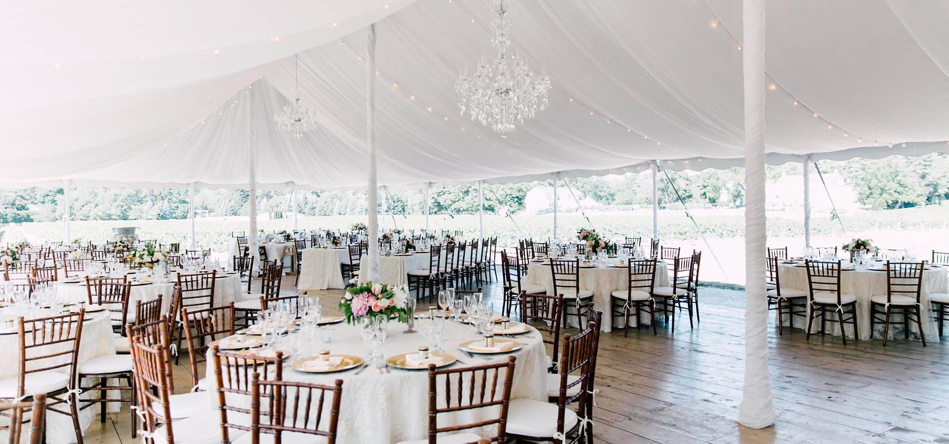 Hero image for Iryna and Brendan's Lovely Wine Country Wedding at Kurtz Orchards