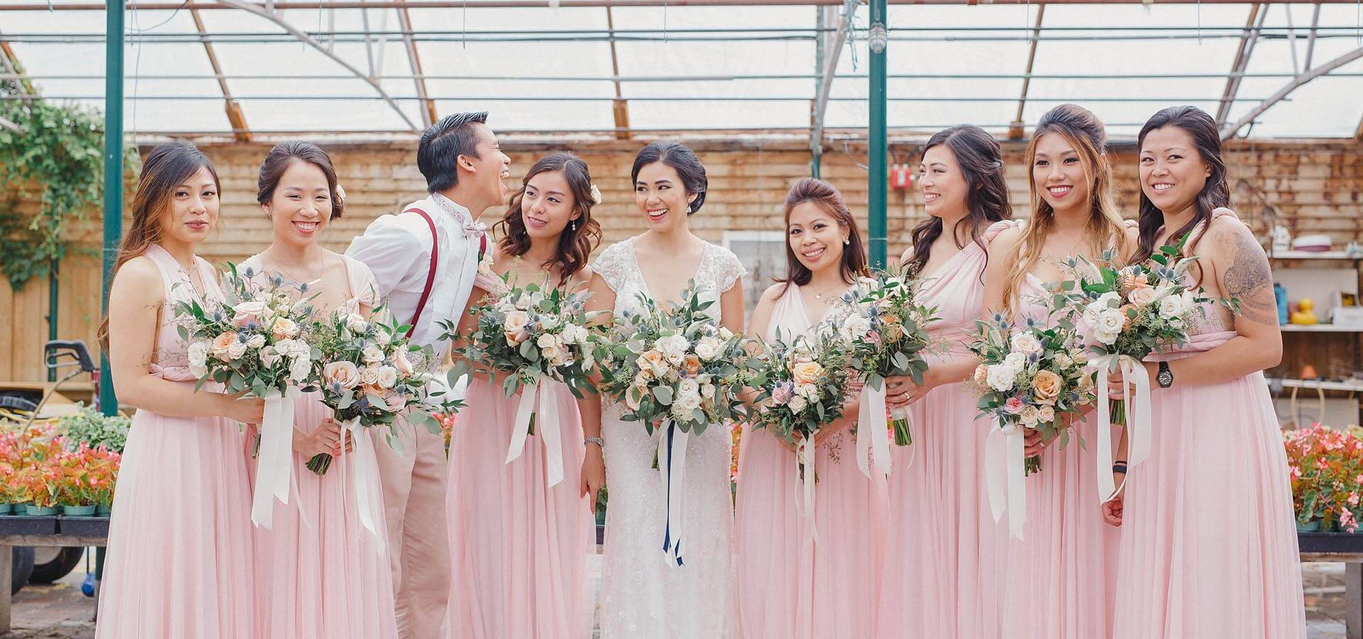 Hero image for Angela and Marvin's Magical Garden Inspired Wedding at The Madison Greenhouse