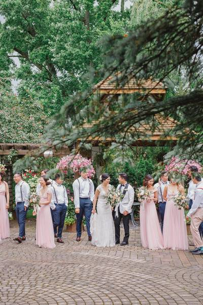 The Madison Greenhouse Event Venue featured in Angela and Marvin's Magical Garden Inspired Wedding at The Ma…
