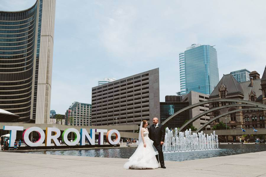 Wedding at Arcadian Loft, Toronto, Ontario, A Brit & A Blonde, 17