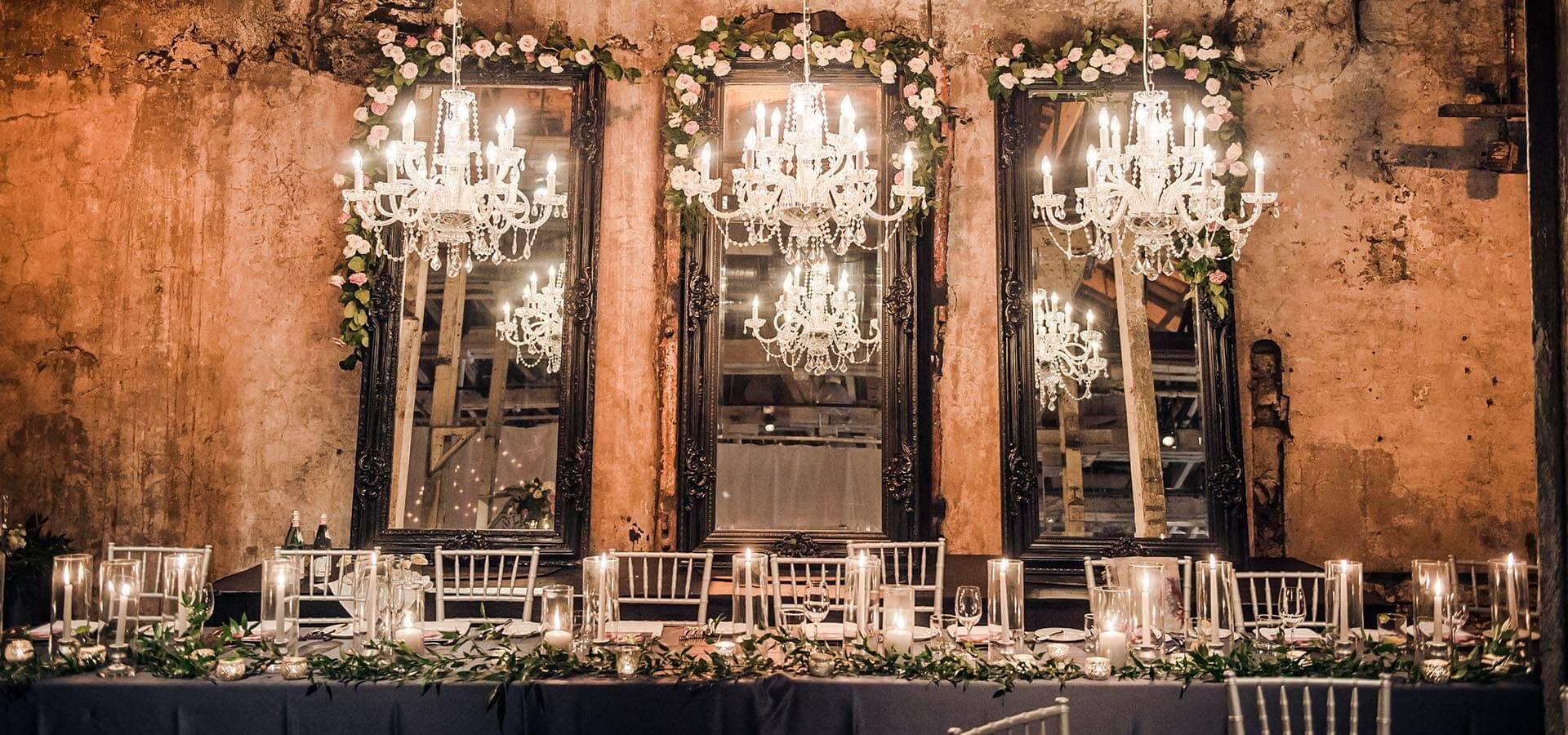 & Christina and Brandonu0027s Ultra Romantic Wedding at the Fermenting Cellar