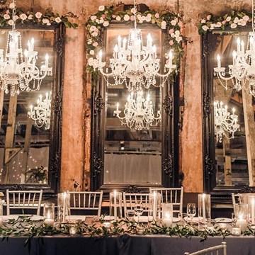 Christina and Brandon's Ultra Romantic Wedding at the Fermenting Cellar