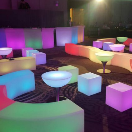 Glowmi Furniture Rentals featured in Top Toronto Event Rental Companies Share Must Haves
