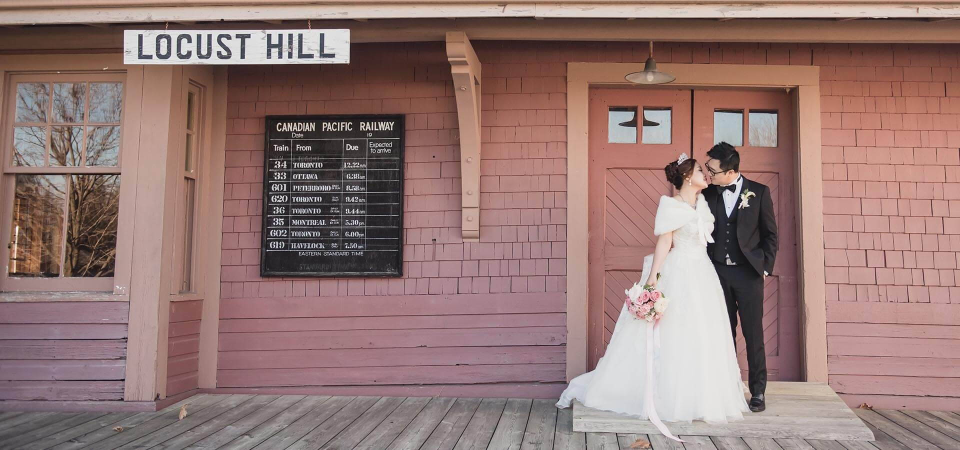 Hero image for Cecilia and Raymond's Pretty Pink and Gray Wedding at The Hilton Hotel