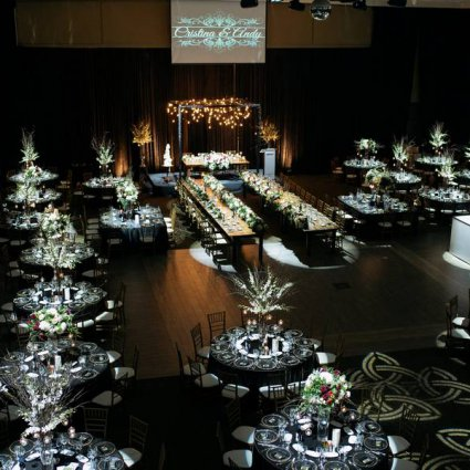 Paramount EventSpace featured in Cristina and Andy's Romantic Wedding at Paramount EventSpace