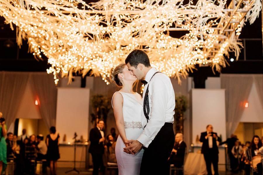 Mardi & Mark's Elegant Wedding at The Warehouse Event Venue 51