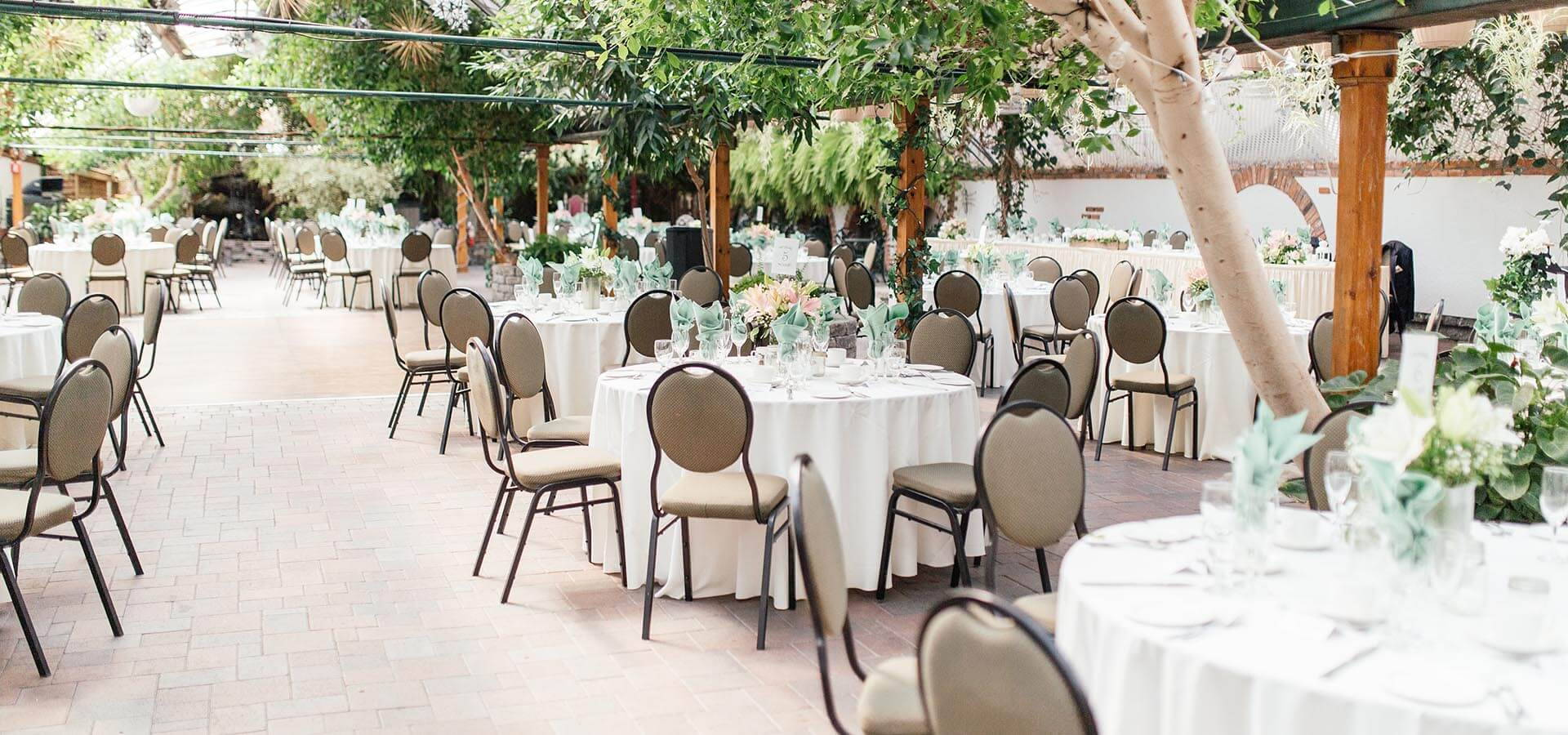 Hero image for Jodie and Olu's Whimsical Wedding at Madsen's Banquet Hall