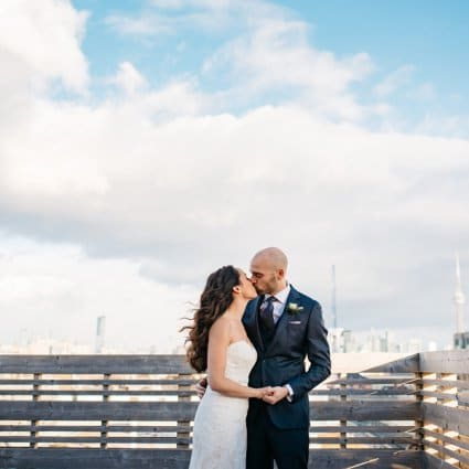 Gladstone Hotel featured in Belinda and Conor's Classic City Wedding at the Gladstone Hotel