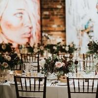 Sarah and Jeff's Romantic Fall Wedding at Thompson Landry Gallery