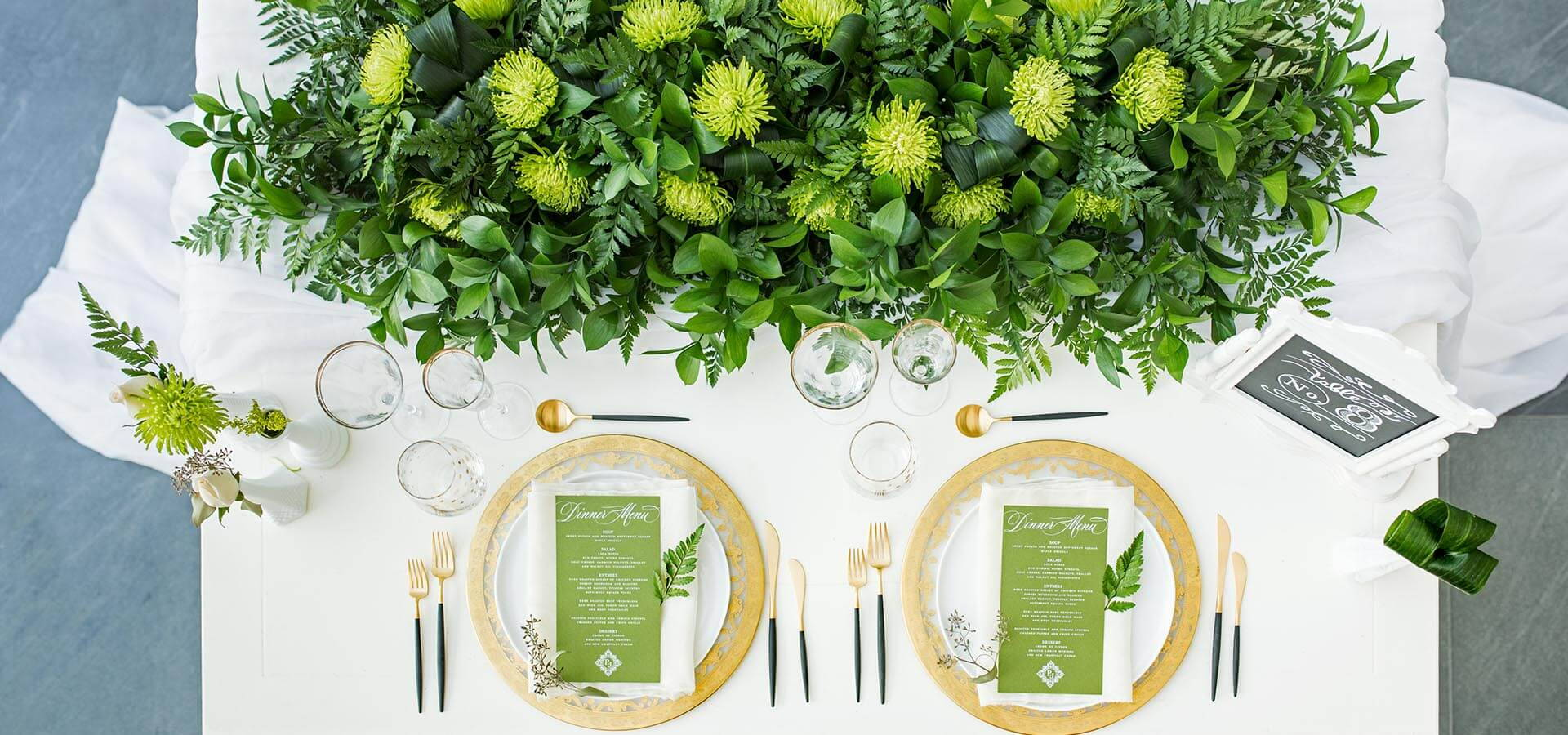 Hero image for A Stunning Green-and-Gold Style Shoot at Aga Khan Museum