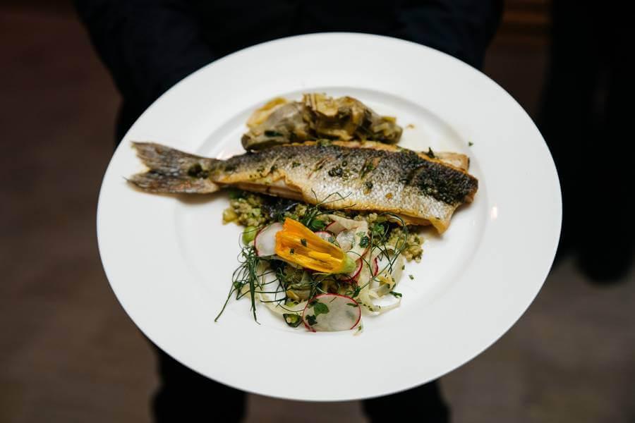 torontos caterers share summer wedding menu, 16