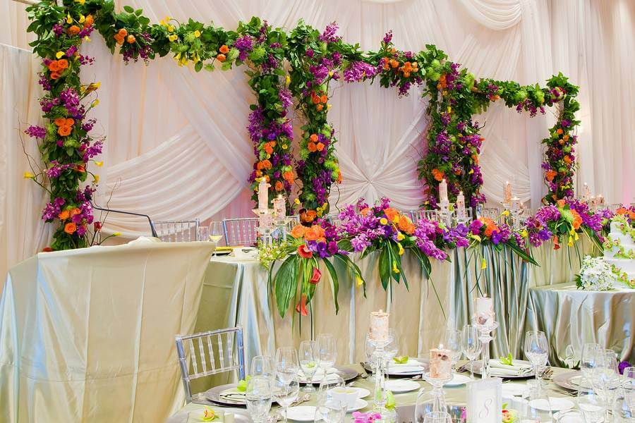 10 unique finishing touches weddings events, 15