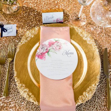 R5 Event Design featured in A Glamorous Style Shoot at Spencer's at the Waterfront