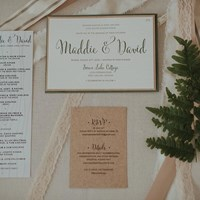 Maddie and David's Romantic Cottage Wedding