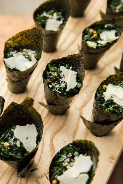 torontos caterers share summer wedding menu, 13