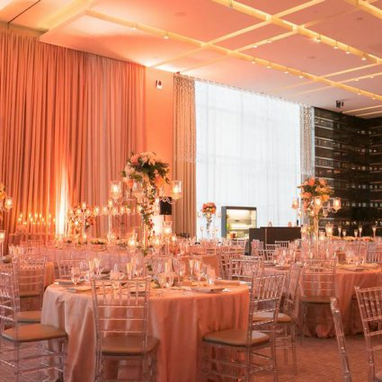 Ashley Pigott Events featured in Kristen and Jimmy's Blush Pink Wedding at the Four Seasons Hotel
