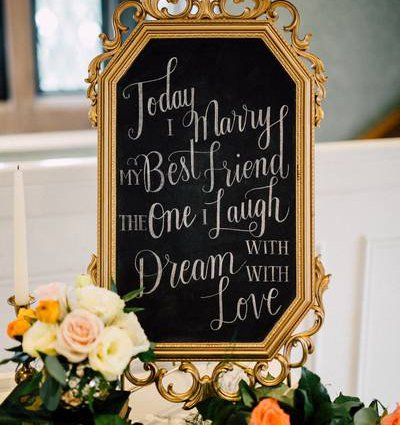 Love Lettering featured in 10 Unique Finishing Touches to Consider for Your Upcoming Wed…