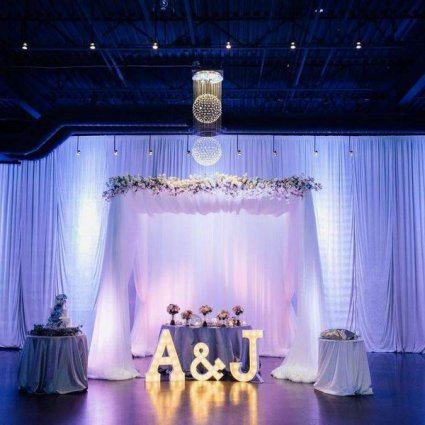 Moonrise Letter Lights featured in 10 Unique Finishing Touches to Consider for Your Upcoming Wed…