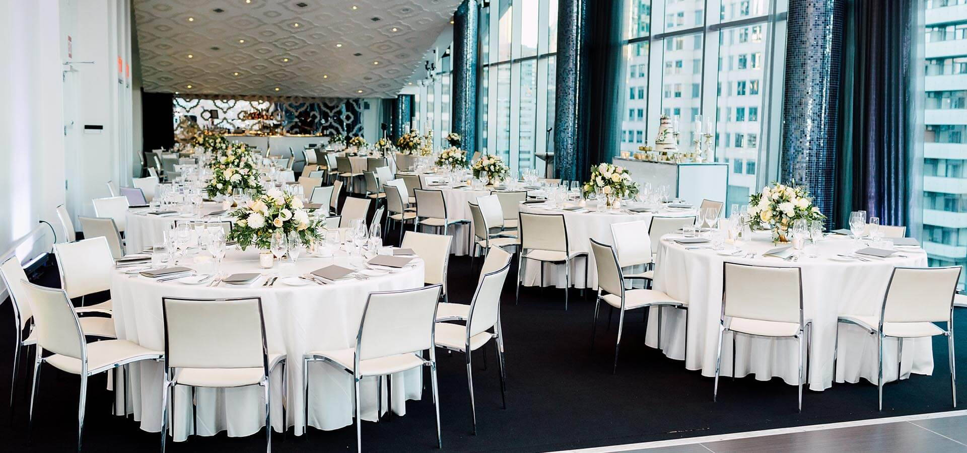 Hero image for Iliana and Michael's Simply Elegant Wedding at Malaparte
