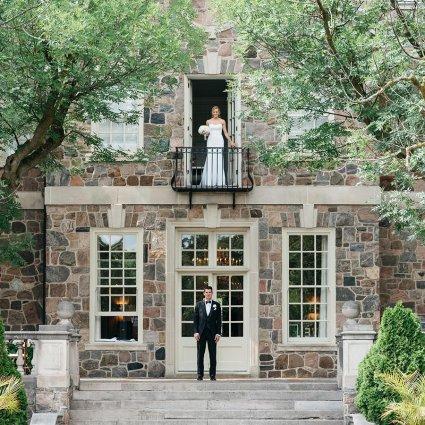 Thumbnail for Amanda and James' Elegant Wedding at Graydon Hall Manor