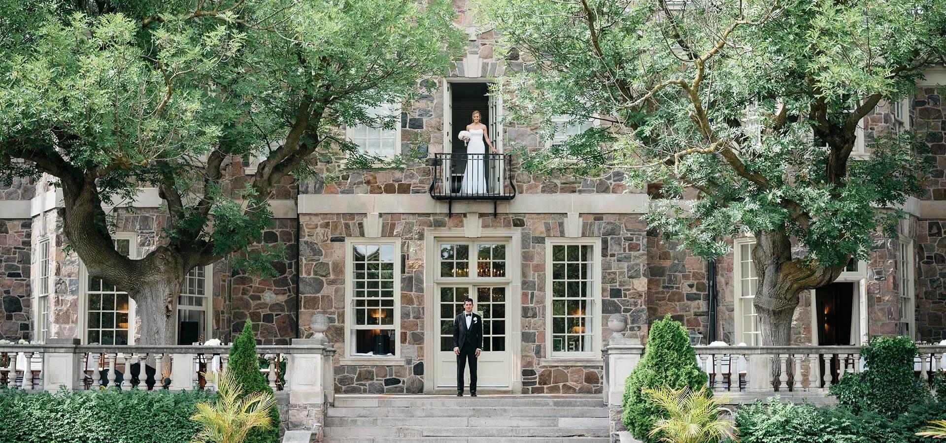 Hero image for Amanda and James' Elegant Wedding at Graydon Hall Manor
