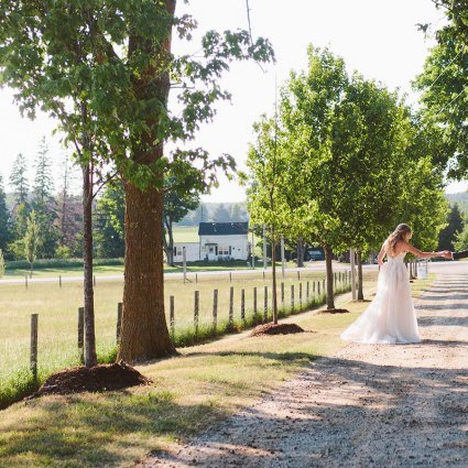 Thumbnail for Ali and Cory's Rustically Chic Wedding at Cambium Farms