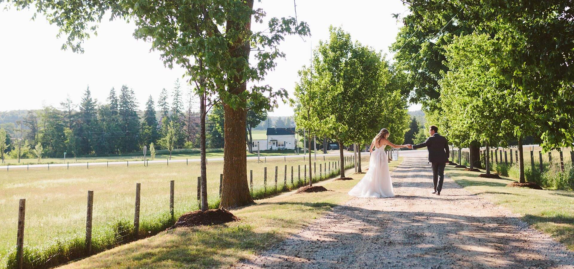 Hero image for Ali and Cory's Rustically Chic Wedding at Cambium Farms