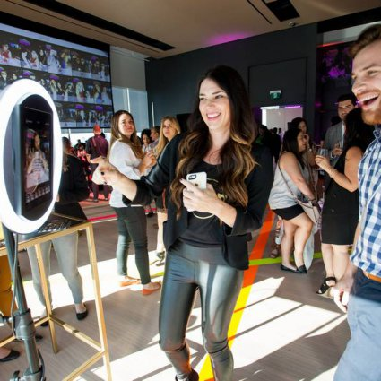 RavenSocial Photobooths featured in An Open House at the Brand New Globe and Mail Centre
