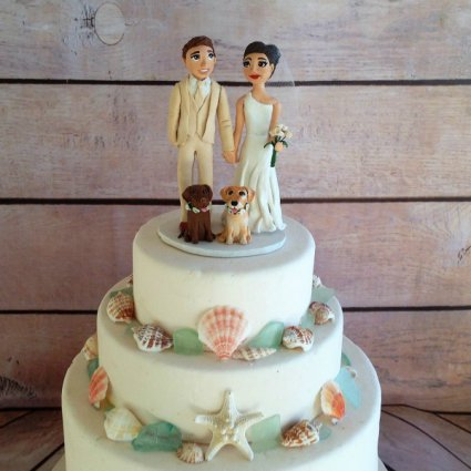 Laurine's Figurines featured in 10 Unique Finishing Touches to Consider for Your Upcoming Wed…