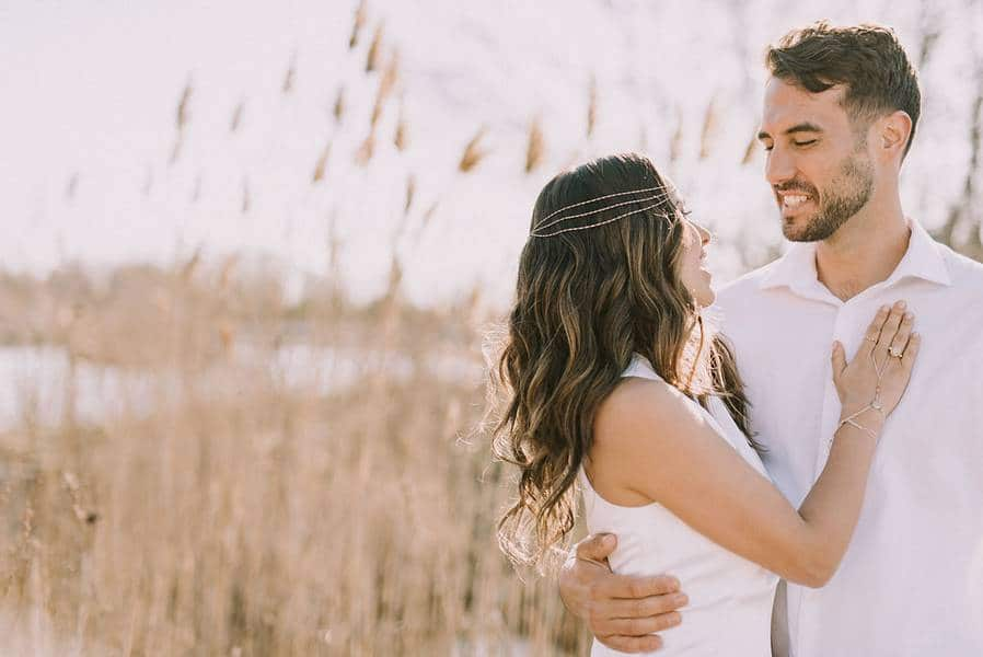 boho glam wedding inspiration style shoot in the scarborough bluffs, 18