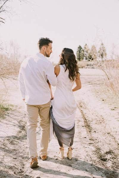 boho glam wedding inspiration style shoot in the scarborough bluffs, 20