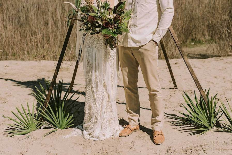 boho glam wedding inspiration style shoot in the scarborough bluffs, 22