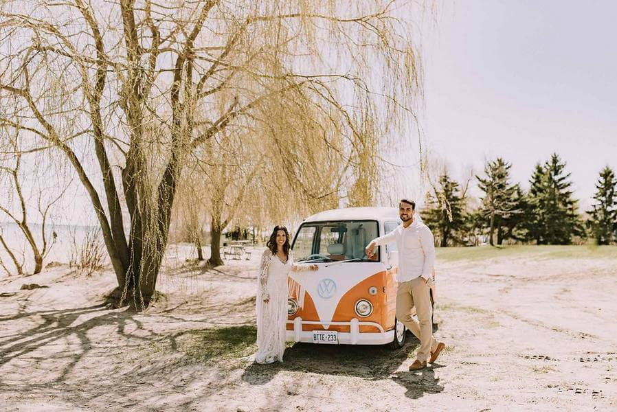 boho glam wedding inspiration style shoot in the scarborough bluffs, 30
