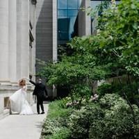 Samantha and Joey's White-and-Green Lush Garden Wedding
